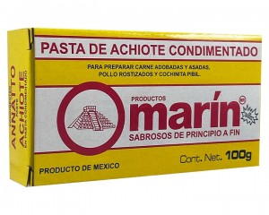 Achiote Cajita Marín 110 gr