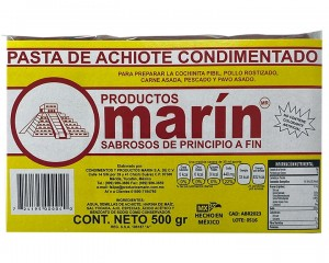Achiote Cajita Marín 500 gr