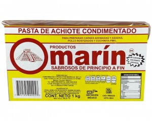Achiote Cajita Marín 1 kg