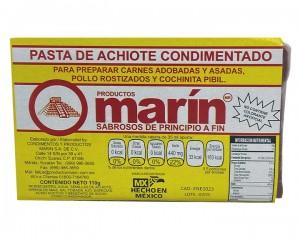 Achiote Cajita Marín 110 gr Cajita de plástico