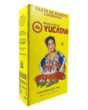 Achiote Cajita Yucatán 100 gr