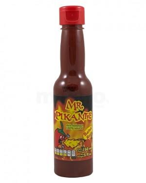 Salsa Mr. Pikante de Chiles Habaneros Rojos  Exxxtra Picosa